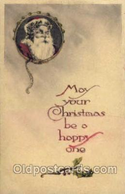 hol003116 - Christmas Santa Claus Postcard Postcards
