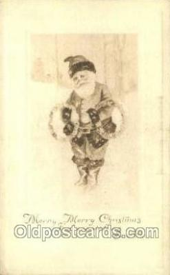 hol003196 - Christmas, Santa Claus Postcard Post card