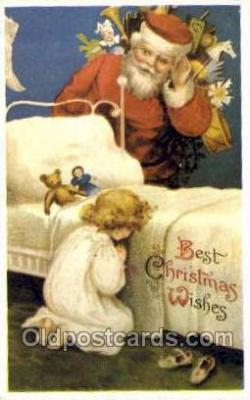 hol003228 - Reproduction Christmas, Santa Claus Postcard Post card