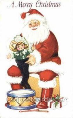 hol003231 - Christmas, Santa Claus Postcard Post card