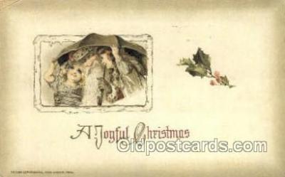 hol003233 - Publisher John Winsch Artist Schmucker, Christmas, Santa Claus Postcard Post card