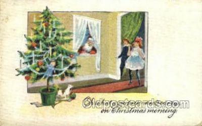 hol003269 - Christmas, Santa Claus Postcard Post card