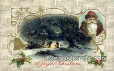 hol003308 - Christmas, Santa Claus Postcard Post card