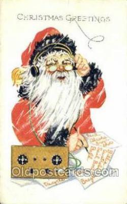hol003321 - Christmas, Santa Claus Postcard Post card