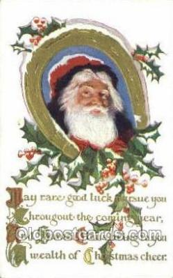 hol003323 - Christmas, Santa Claus Postcard Post card