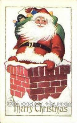 hol003333 - Christmas, Santa Claus Postcard Post card