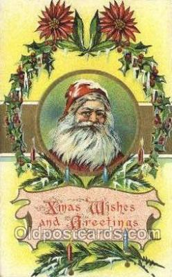 hol003356 - Christmas, Santa Claus Postcard Post card