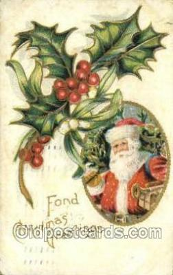 hol003385 - Christmas, Santa Claus Postcard Post card