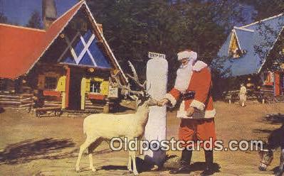 hol003475 - North Pole New York, USA Santa Claus Postcard, Chirstmas Post Card Old Vintage Antique Carte, Postal Postal