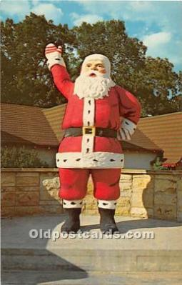 hol003649 - Santa Claus Old Vintage Postcard