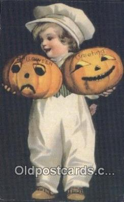 Reproduction Halloween Postcard Post Card