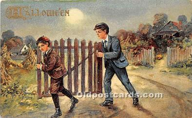 2 Boys with Gate
