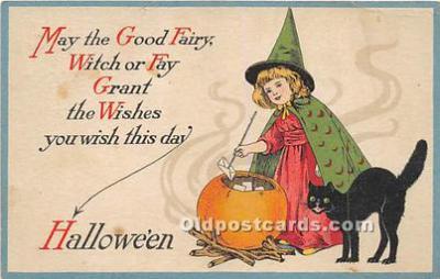 Artist Ellen Clapsaddle, Halloween Series 27