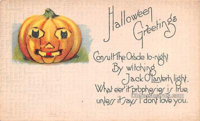 hol013013 - Halloween Vintage Post Cards