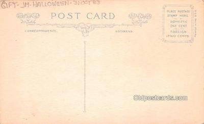 hol013013 - Halloween Vintage Post Cards  back