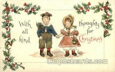hol015015 - Christmas Postcards Post Card