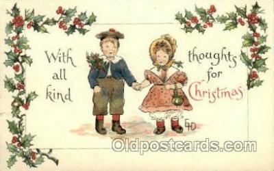 hol015015 - Christmas Postcards Post Card