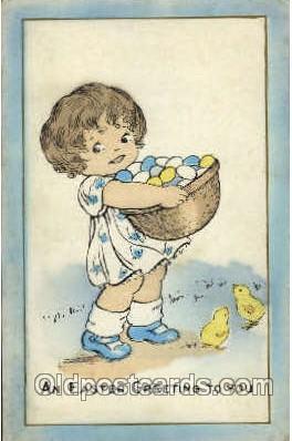hol030021 - Easter Greeting Postcard Postcards
