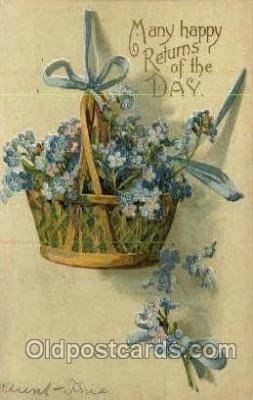 hol030226 - Artist Ellen Clapsaddle, Happy Easter Postcard Post Cards
