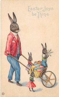 hol031286 - Easter Post Card