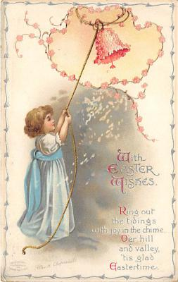 hol032081 - Artist Ellen Clapsaddle Easter Post Card
