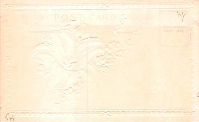hol033023 - Easter Postcard, Old Vintage Antique Post Card  back