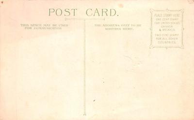 hol033075 - Easter Postcard, Old Vintage Antique Post Card  back