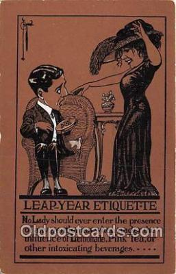 Leap Year Etiquette