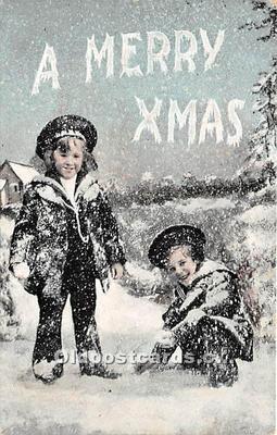 hol050732 - Christmas Holiday Postcard