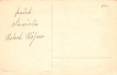 hol052027 - Christmas Postcard Old Vintage Antique Post Card  back