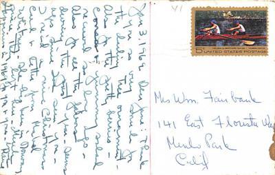 hol052213 - Christmas Postcard Old Vintage Antique Post Card  back
