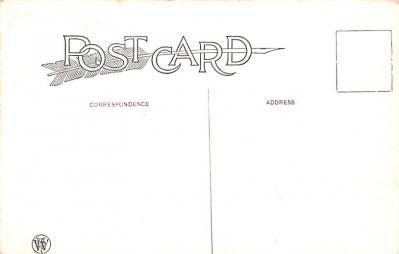 hol052547 - Christmas Postcard Old Vintage Antique Post Card  back