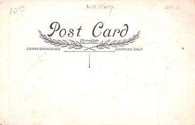 hol052613 - Christmas Postcard Old Vintage Antique Post Card  back