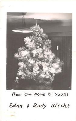 hol052687 - Christmas Postcard Old Vintage Antique Post Card