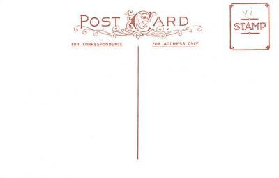 hol054011 - Christmas Postcard Old Vintage Antique Post Card  back