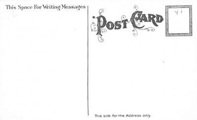 hol054065 - Christmas Postcard Old Vintage Antique Post Card  back