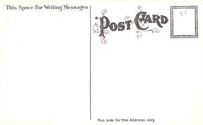 hol054067 - Christmas Postcard Old Vintage Antique Post Card  back