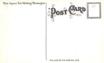 hol054069 - Christmas Postcard Old Vintage Antique Post Card  back