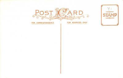 hol054113 - Christmas Postcard Old Vintage Antique Post Card  back