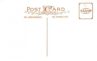 hol054115 - Christmas Postcard Old Vintage Antique Post Card  back
