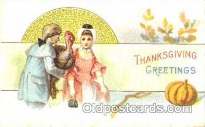 hol060040 - Thanksgiving Postcard Postcards