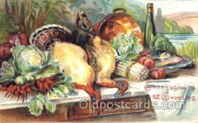 hol060046 - Thanksgiving Postcard Postcards