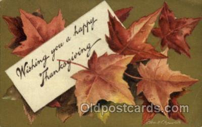 hol060211 - Artist Ellen Clapsaddle, Thanksgiving Postcard Post Cards