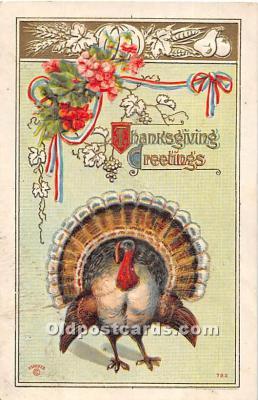 hol061815 - Thanksgiving Old Vintage Antique Postcard Post Card