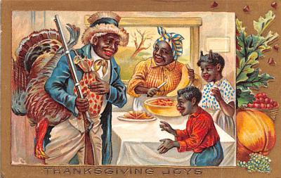 hol064149 - Thanksgiving Postcard Old Vintage Antique Post Card
