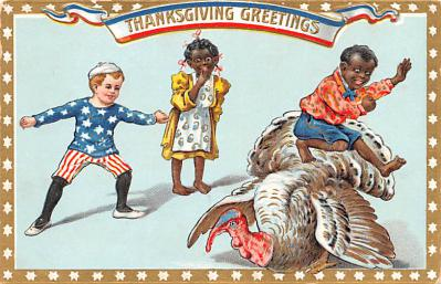 hol064169 - Thanksgiving Postcard Old Vintage Antique Post Card
