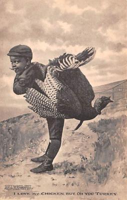 hol064185 - Thanksgiving Postcard Old Vintage Antique Post Card