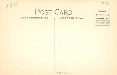 hol064185 - Thanksgiving Postcard Old Vintage Antique Post Card  back