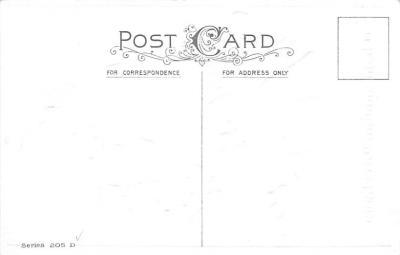 hol064319 - Thanksgiving Postcard Old Vintage Antique Post Card  back