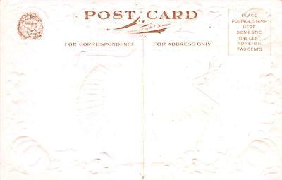 hol064453 - Thanksgiving Postcard Old Vintage Antique Post Card  back